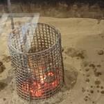 Hamajima - (※2)囲炉裏とそこで焼かれる私のハラス