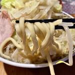 麺匠 克味 - 平打ちの太麺