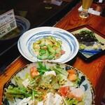 いちゃりば - 島豆腐ゴマサラダとゴーヤーチャンプルー