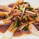 中華 勝生 - 料理写真:白身の甘酢あんかけ