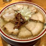 田中そば店 - 肉そば(1,020円)