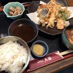 大福食堂 - 料理写真:天ぷら定食(1200円)