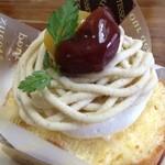 モンテローザ - 料理写真:モンブラン399円