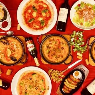 ◆◇フォトジェニックな料理の数々◇◆イタリアン&スパニッシュ