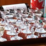 串道楽 楽車 - 楽しいお酒の飲みくらべ16種