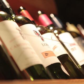 肉×ワインが抜群のコンビネーション
