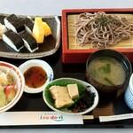 レストラン彩 - 日替り定食 さば押し寿司