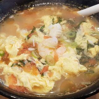謙一食堂 - 料理写真:酸辣湯麵