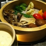 14057965 - 蒸し野菜のバーニャカウダ