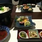 寿司ダイニングAYAMACHI - 山陰まるごとコース 4000円 ①