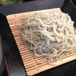 そば工房 緑風亭 - ざる蕎麦