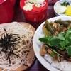 満留賀 - 料理写真:おすすめセット¥750(冷蕎麦とミニ深川丼)