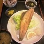 古民家食堂 - Chura親父チョイスのシマほっけ定食、650円(グラウンドメニュー)