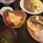 古民家食堂 - Churaママチョイスの魚定食、ランチメニューで780円