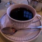 ステーキハウスみや - コーヒーはいまいち