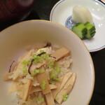 味 ふくしま - 松茸ご飯