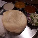 Truly south indian dakshin yaesu - 本日のカレーランチ