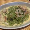 Pittsuriamarino - 料理写真:海老と帆立貝のクリームソース