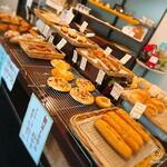 トルシュ - 中央にズラリと並ぶパン