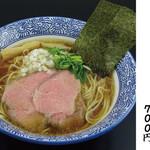 濃厚煮干しそば 麺匠 濱星 - あっさり醤油煮干しそば。毎日食べても飽きない美味しさです。