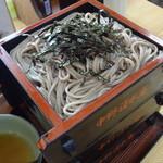 清水庵 - 蕎麦は3段盛り