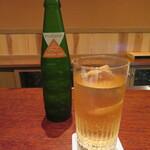 にしぶち飯店 - 私はジンジャエールで乾杯