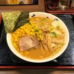 らーめん むつみ屋 - 味噌野菜ラーメン(コーントッピング)