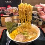 らーめん むつみ屋 - めーーん!(中太麺)
