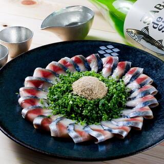 福岡の郷土料理「ごまさば」