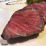 インコントラ・ヒラヤマ - 料理写真:短黒牛リブロースカブリのビステッカ