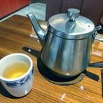 横浜中華街 重慶飯店 - ジャスミン茶