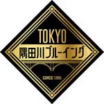 カスミガセキ - 隅田川ブルーイング ロゴ