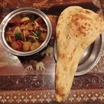 インド料理モハン - チリチキンカレーセット