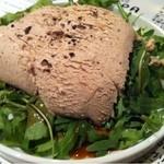 14061835 - レバームースのサラダ