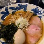 世田谷 磯野 - 料理写真:醤油味玉支那そば