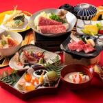 日本料理 しゃぶしゃぶ 鉄板焼 有馬 - 1月1~3日/景福会席