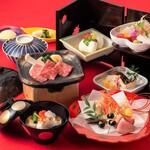 日本料理 しゃぶしゃぶ 鉄板焼 有馬 - 1月1~3日ランチ限定/新春御膳