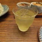 塩梅 - 冷たい緑茶