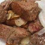 ステーキ屋 ニューてっぺい - お肉のアップ