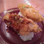 スシロー - 真鱈の天ぷらにぎり