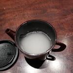 松玄 凛 - 蕎麦湯