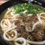 麺座 - 肉うどん