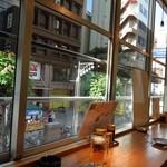 浅草厨房 - すずらん通りを眺めつつ