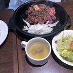 いきなり!ステーキ - ワイルドステーキランチ1390円税別