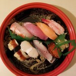 すし上等 - 料理写真:ネオ特上 1000円