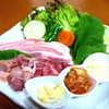 花凛 - 料理写真:一番人気のサムギョプサル!
