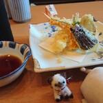 播磨水産 - 天ぷら盛り合わせ