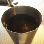 タイ東北料理イサーンキッチン - レモングラスと蓮のお茶。鼻に抜ける爽やかさ。