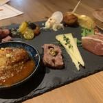 青山TORO - おつまみプレート