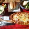 米町マフィンズ - 料理写真:ナスのグラタン定食¥1000